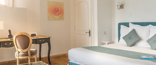 Chambres Deluxe avec terrasse